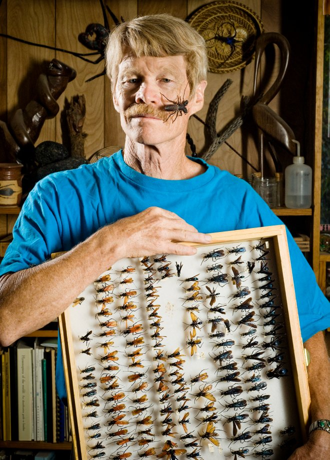 Insect Scientist portrait in Tucson-Phoenix, Arizona