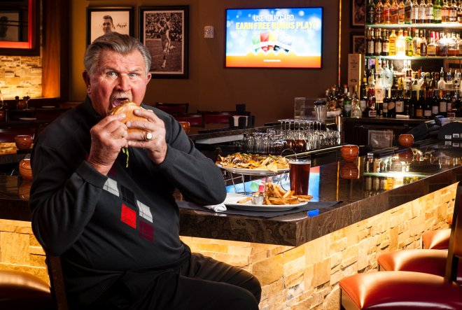 Chicago Bears' Mike Ditka Portrait in Phoenix-Scottsdale Arizona