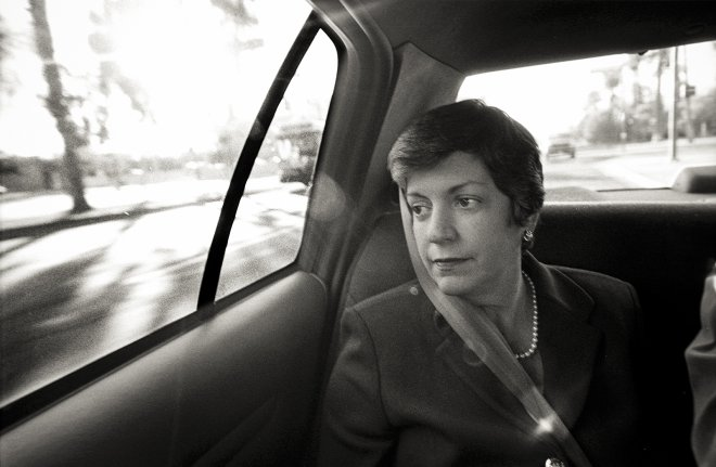 Politician Janet Napolitano in Phoenix, Arizona portrait